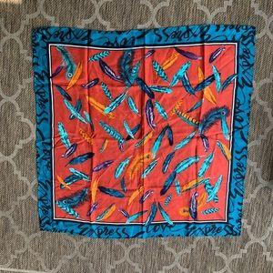 Large express silk handkerchief